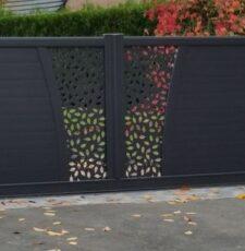 leaf entrace gate design