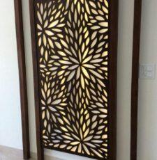 Leaf partition/jali design