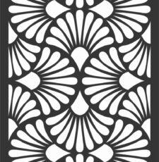 Flower Safety Grill Laser CNC Design