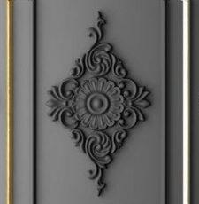 Wooden Flower 3D CNC Design
