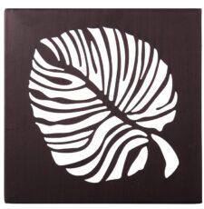 Decorative Leaf Pattern Laser CNC Design