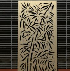 Bamboo leaf plant design