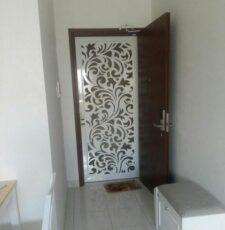 curl floral main gate design