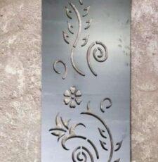 floral elevation plate design