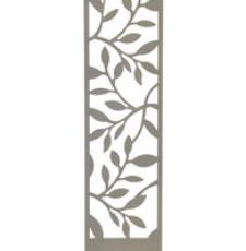 cnc leaf door plate design