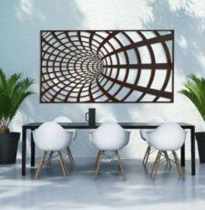 illusion wall art design
