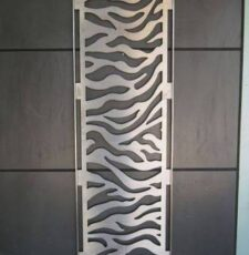 Water wavs door design