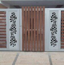 cnc double gate design